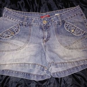 Union Bay Distressed Denim Shorts Juniors Size 9